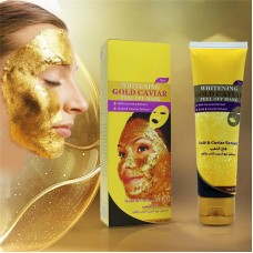 Маска-плёнка для лица Gold Caviar Золотая