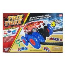 Игрушка с 2мя машинками Trix Trux