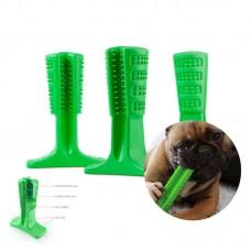 Зубная силиконовая щетка для собак SMALL