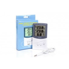 Цифровой термометр с гигрометром TA 318