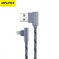 Кабель USB Data Awei CL-92 Lightning