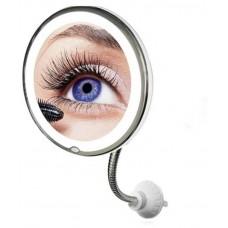 Зеркало косметическое гибкое с подсветкой и увеличением Ultra Flexible Mirrore 10x