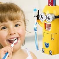 Держатель зубных щеток и дозатор пасты Миньон