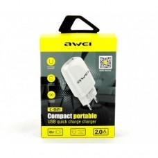 Cетевой адаптер Awei C-821 5V 2A