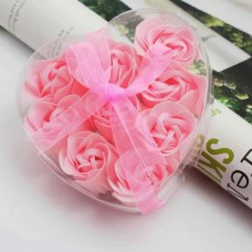 Мыло Розы в подарочной упаковке в форме сердца