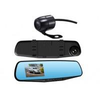 Камера заднего вида и зеркало с монитором (видеорегистратор)