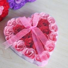 Набор мыло ароматизированное Розы (24 шт) FL-003