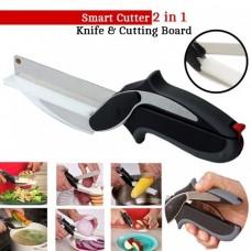 Нож-ножницы 2 в 1 Smart cutter