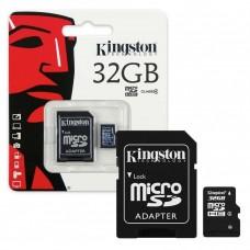 Карта памяти 32Gb Kingston Micro SD Card