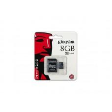 Карта памяти Kingston Micro SD Card 8Gb