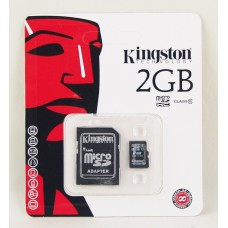 Карта памяти Kingston Micro SD Card 2Gb