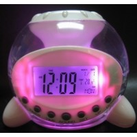 Часы-будильник со светомузыкой Natural Sound Calendar