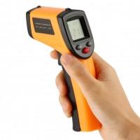 Инфракрасный термометр с лазерным измерителем