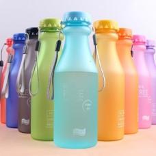 Матовая эко бутылка 350 мл BPA Free