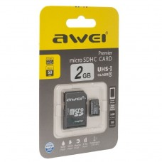 Карта памяти 2GB Awei MicroSD Card