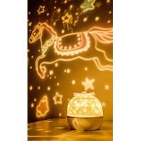 Детский ночник-проектор маленький пони Music Projector Lamp