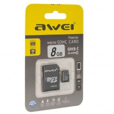 USB накопитель 8Gb Awei MicroSD Card