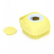Мягкая силиконовая расческа для домашних животных