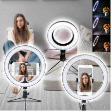 Кольцевая лампа Beauty Fill Light CT-001 18 см