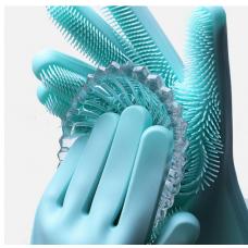 Хозяйственные силиконовые перчатки